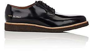 Common Projects Men's Wedge-Sole Derbys-Black