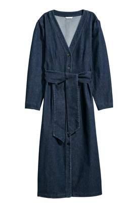 H&M Denim Dress - Dark denim blue - Women
