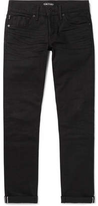 Tom Ford Selvedge Denim Jeans - Men - Black