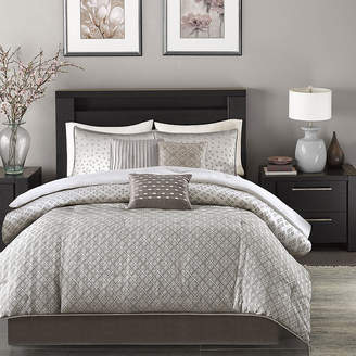 JCPenney Madison Park Pensacola 7-pc. Jacquard Comforter Set