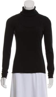Burberry Rib Knit Turtleneck Sweater Black Rib Knit Turtleneck Sweater