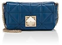 Sonia Rykiel Women's Le Copain Large Leather Shoulder Bag - Blue