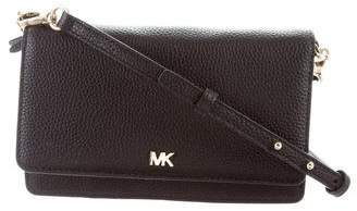 Michael Kors Leather Crossbody Wallet