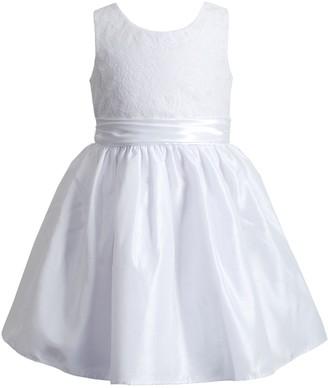 Youngland Girls 4-6x Lace Bodice Dress