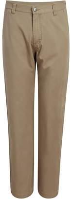 Woolrich Alderglen Flannel-Lined Chino Khaki Pant - Men's