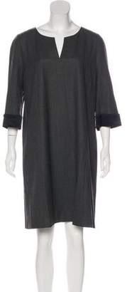 Strenesse Knee-Length Virgin Wool Dress