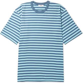Très Bien Striped Cotton-Jersey T-Shirt