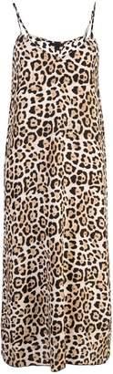 ATM Anthony Thomas Melillo leopard print midi dress