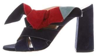 Chloé Slide Bow Sandals