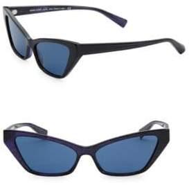 Aquazzura 57MM Le Matin Sunglasses