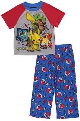 Pokemon Pika Boom Pajamas for boys