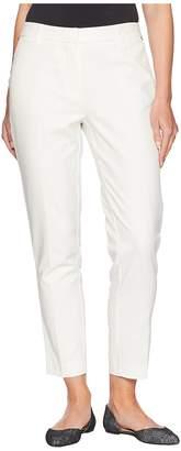 Jones New York Grace Ankle w/ Rivets in Ivory Women's Jeans