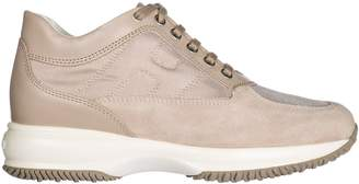 Hogan Shoes Suede Trainers Sneakers Interactive