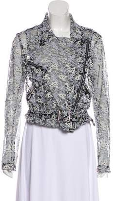 Christopher Kane Lace Moto Jacket