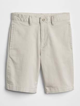Gap Uniform action stretch flat front shorts