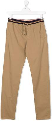 Bellerose Kids TEEN drawstring waist chino trousers