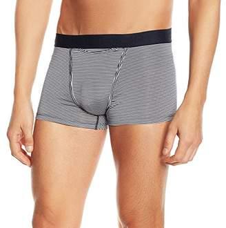 Hom Men's Elegance Denim HO1 Simon Boxer Brief Striped Trunk