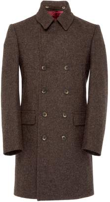 Osso London - Loxy British Wool Elongated Pea Coat