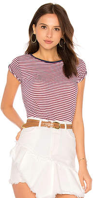 Free People Stripe Clare Tee