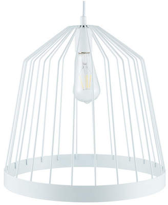 Southern Enterprises Plover Metal Pendant Lamp White