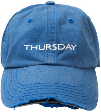 Blue Weekday Cap