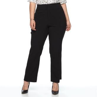 Apt. 9 Plus Size Magic Waist Career Pants