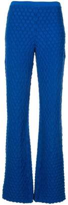 Marni flared knitted trousers