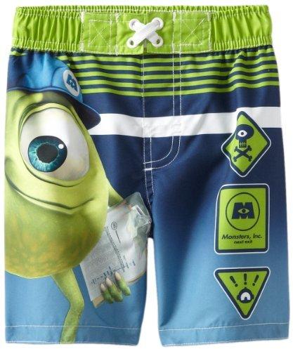 Disney Boys 2-7 Monsters Inc Swim Trunk