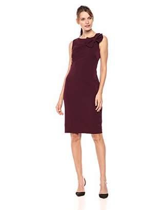 Eliza J Women's Sleeveless Sheath Dress with Bow Shoulder