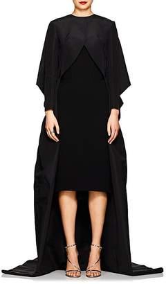 Zac Posen Women's Silk Taffeta Voluminous Opera Coat