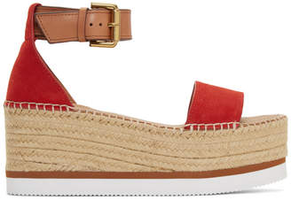fb505bb2b59f See by Chloe Red Espadrilles for Women - ShopStyle UK