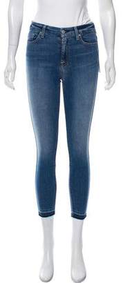 7 For All Mankind Mid-Rise Skinny Jeans w/ Tags