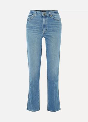 Khaite - Victoria High-rise Straight-leg Jeans - Indigo