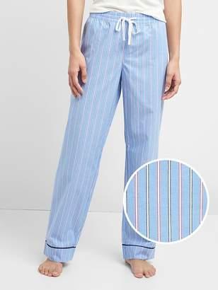 Gap Print Sleep Pants in Poplin