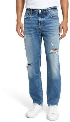 Hudson Jeans Dixon Easy Straight Fit Jeans (Landmark & Trigger)