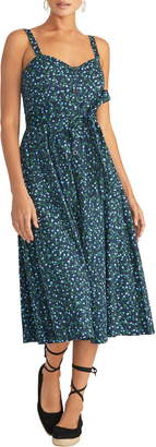 Rachel Roy Print Fit & Flare Sundress