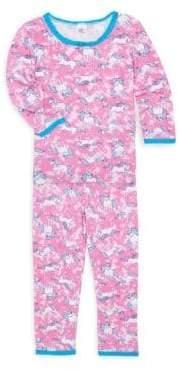 Esme Toddler's, Little Girl's& Girl's Unicorn Pajama Set