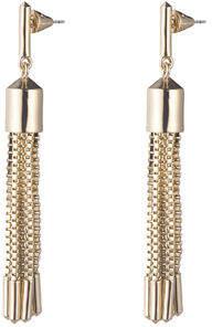 Eddie Borgo Neo Tassel Chain Earrings