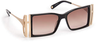 Henri Bendel Hb Icons Square Sunglasses