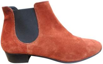 Sandro Brown Suede Ankle boots