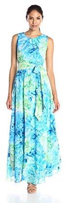 Jessica Howard Women's Floral Maxi Dress $99 thestylecure.com