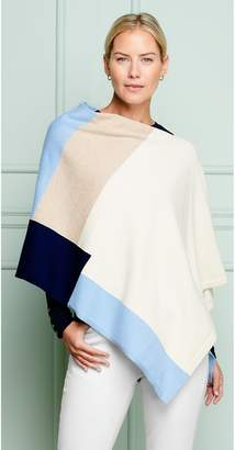 J.Mclaughlin Worth Poncho in Color Block