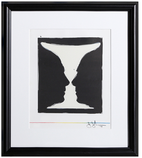 Cup 2 Picasso, 1973 by Jasper Johns (Framed Lithograph)