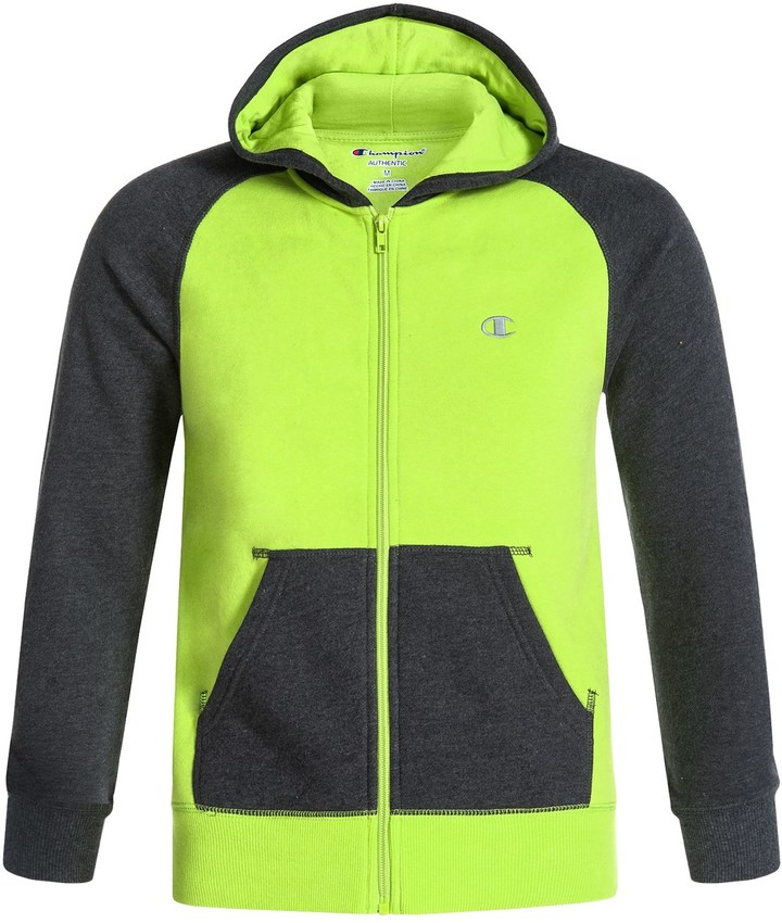 Champion High Color-Block Hoodie - Zip Front (For Big Boys)