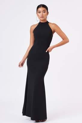 dfea95d56e5a Club L Womens **High Neck Maxi Dress By Black