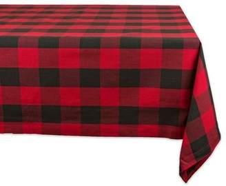 "Buffalo David Bitton Design Imports Classic Rectangle Check Kitchen Tablecloth, 84"" x 60"", 100% Cotton , Multiple Colors/Sizes"
