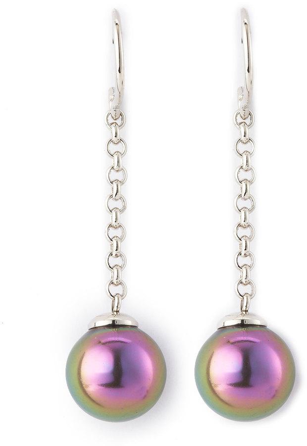 Majorica Tahitian Pearl Earrings