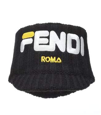 2394a3a3f165 Fendi MANIA alpaca-blend headband