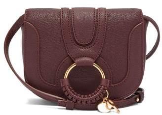 See by Chloe Hana Mini Leather Cross Body Bag - Womens - Burgundy
