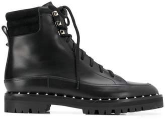 Valentino Sole Rockstud boots